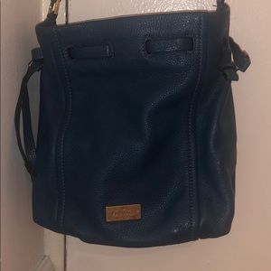 Kate spade teal bucket bag